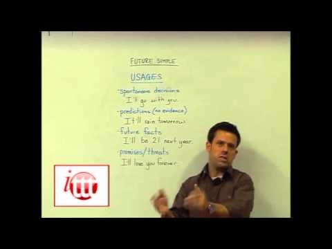 English Grammar – Future Simple – Usage – TEFL Online