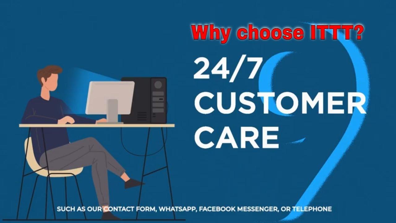 Why choose TEFL Certification ITTT: 24/7 Customer Care
