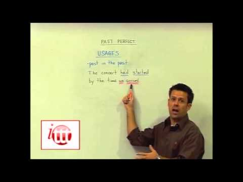 English Grammar – Past Perfect – Usage – Online Teaching Course