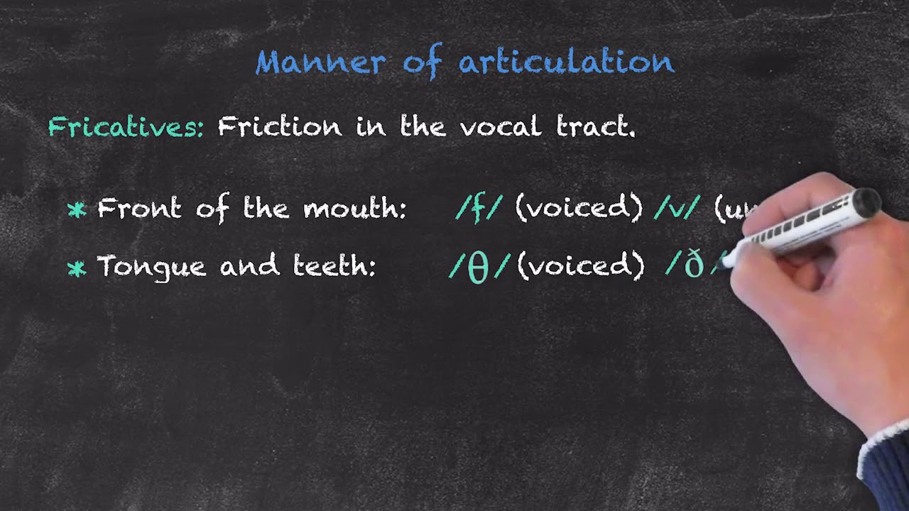 Pronunciation and Phonology in the EFL Classroom – Manner of Articulation Pt. 2