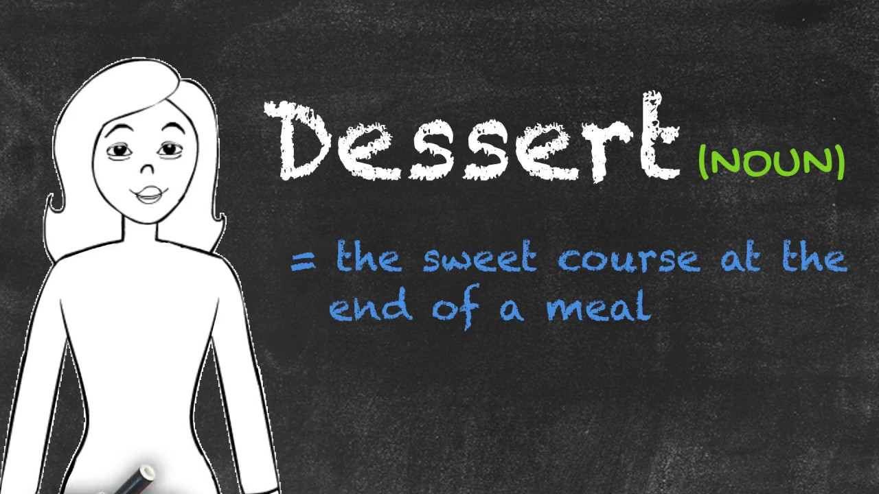 Desert vs Dessert   Ask Linda!   English Grammar