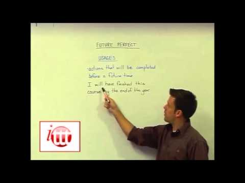 English Grammar – Future Perfect – Usages – Teaching English as a Foreign Language